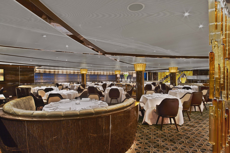 The Grill by Thomas Keller Seabourn Encore