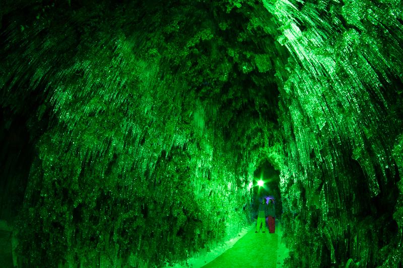 Shikotsuko Ice Cave, Hokkaido, Japan