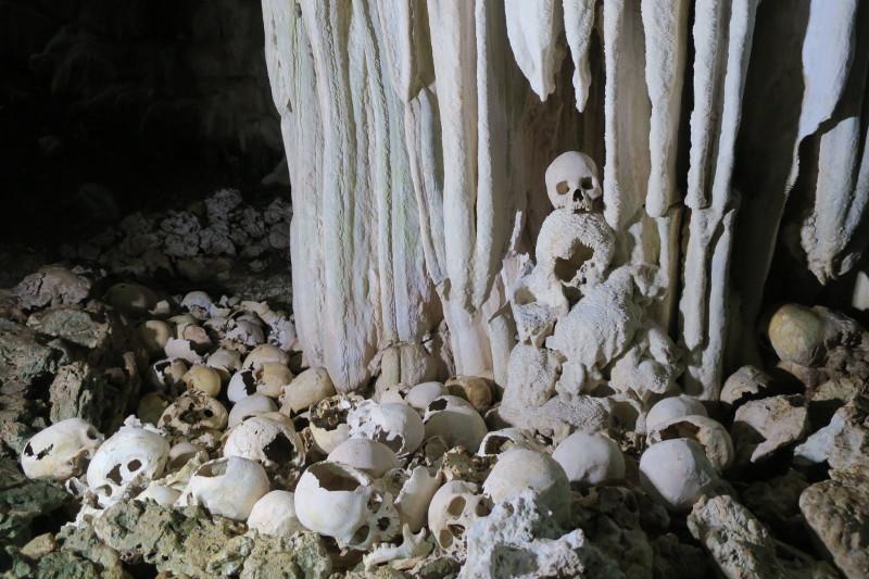 Skull cave Tawali Papua New Guinea