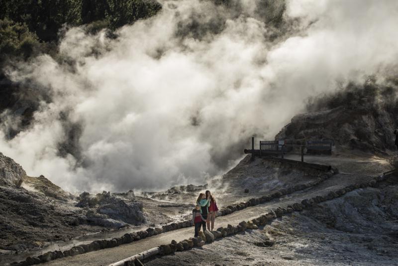 Steaming Cliffs Hells Gate