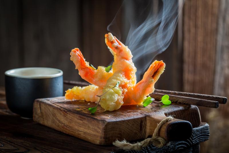 steaming tempura