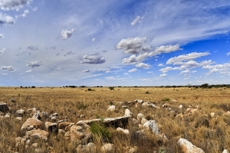 Sweeping plains of Outback Australia