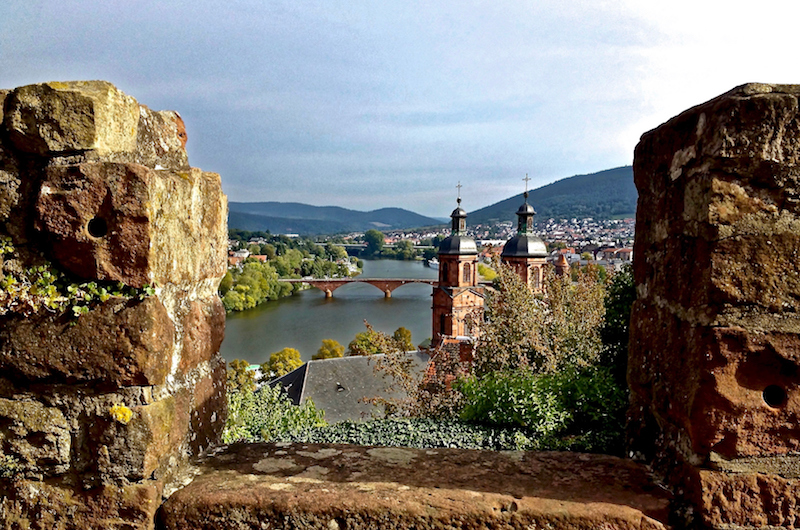 What a view over the town of Miltenberg!
