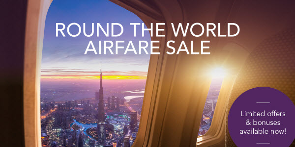Airfare Sale Round the World
