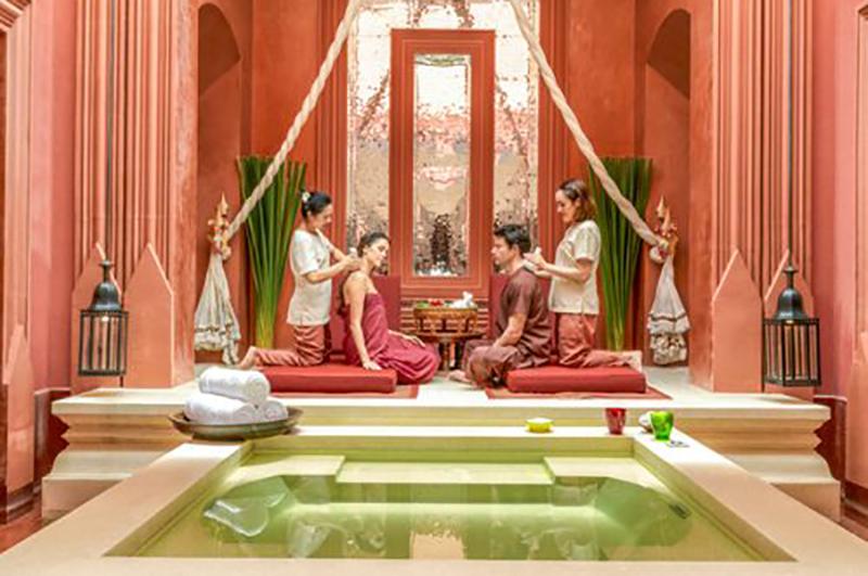 Hyatt Regency Hua Hin's spa, The Barai