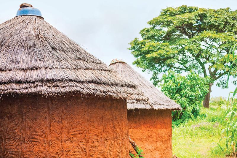 Tata-Somba houses, Benin