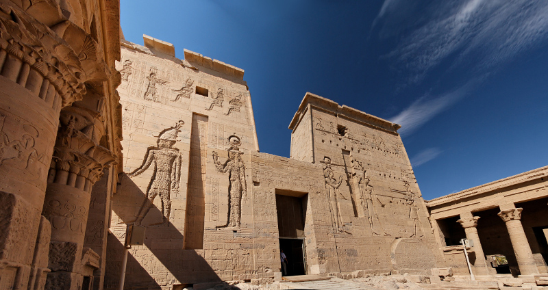 Temple of Isis Philae, Egypt