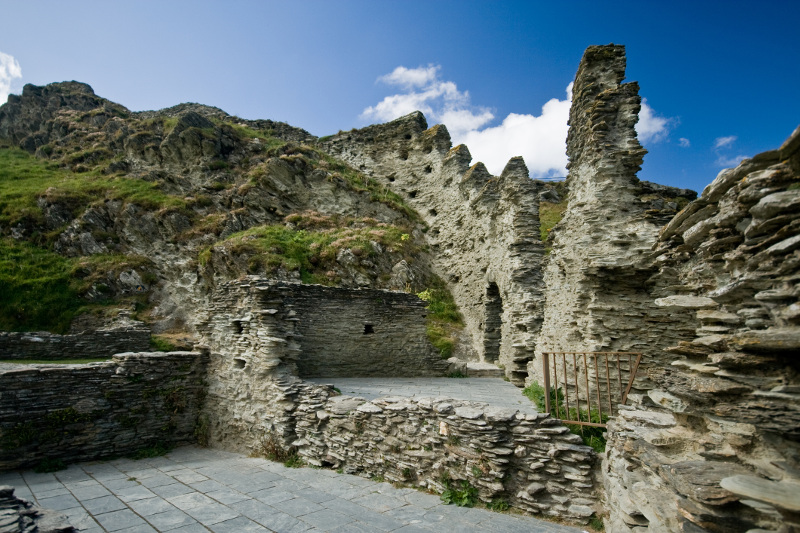 Tintagel Castle, birthplace King Arthur