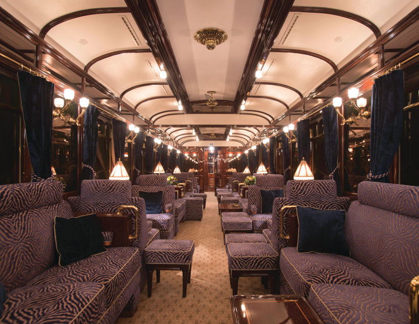 venice orient express bar lounge car