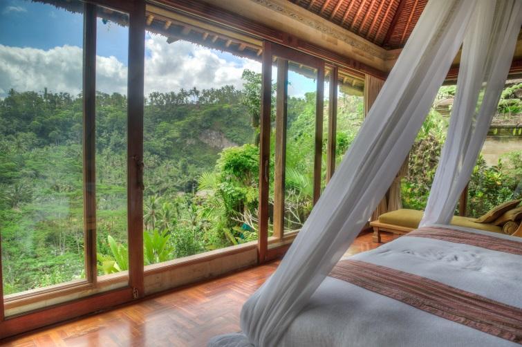 View from Luxury Villa in Bali