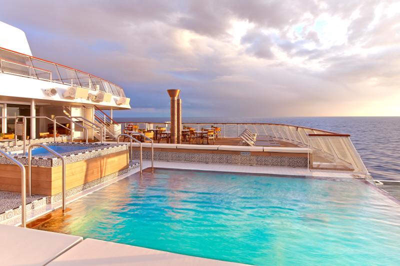 Viking Ocean Cruises infinity pool