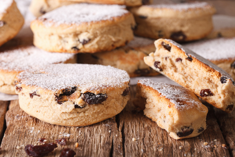 Welsh cakes, Back-roads Britain