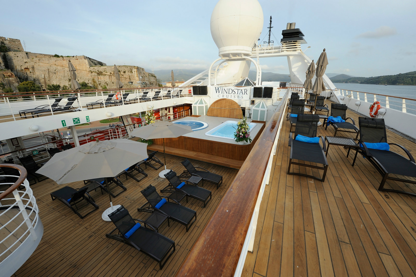 Windstar Deck view