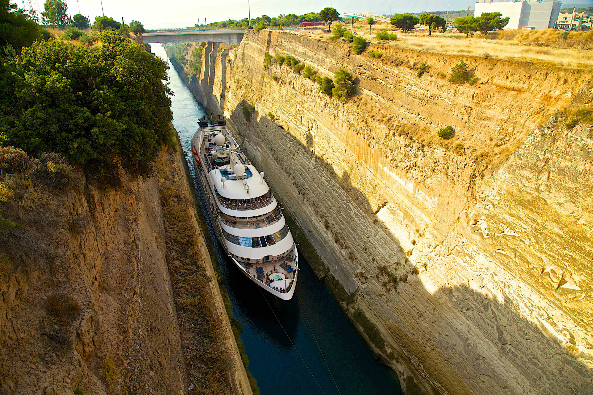 Windstar Corinth Canal Greece