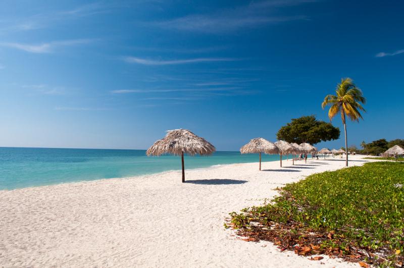 Beautiful Cuban beach.