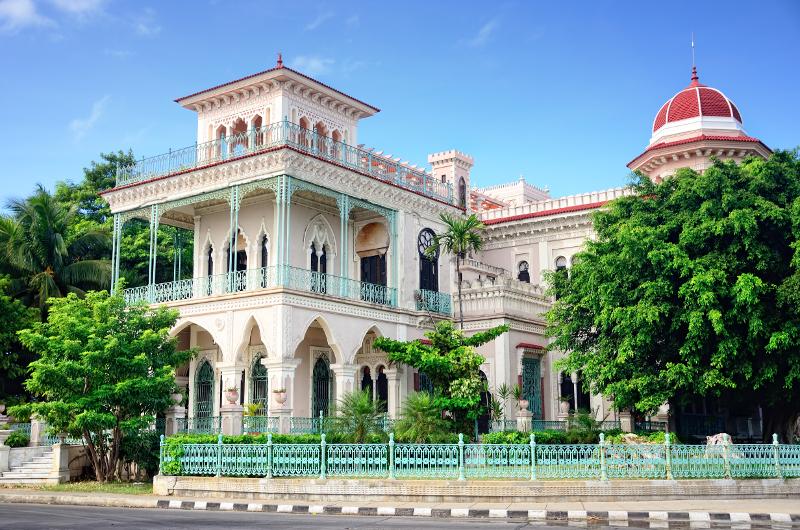 Palacio del Valle Cienfuegos Cuba.