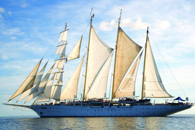 Star Flyer cruise ship.