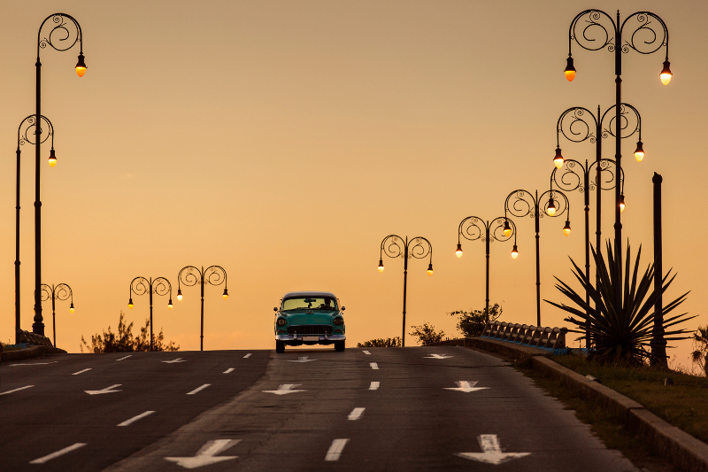 Classic car in Havana.