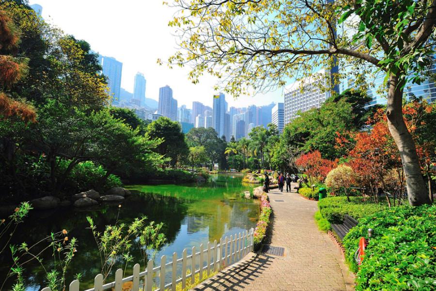 Enjoy Some Green Space in Hong Kong