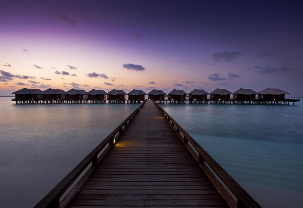 This image: Sheraton Maldives Full Moon Resort & Spa.