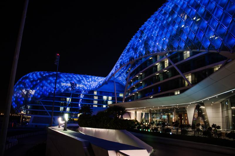 Glitzy Hotel Viceroy in Abu Dhabi