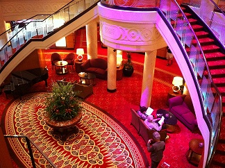Queen Mary 2 Grand Lobby