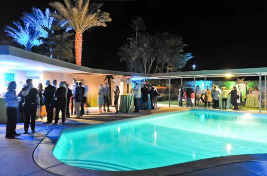 Modernism Week - Sinatra House - © David A. Lee