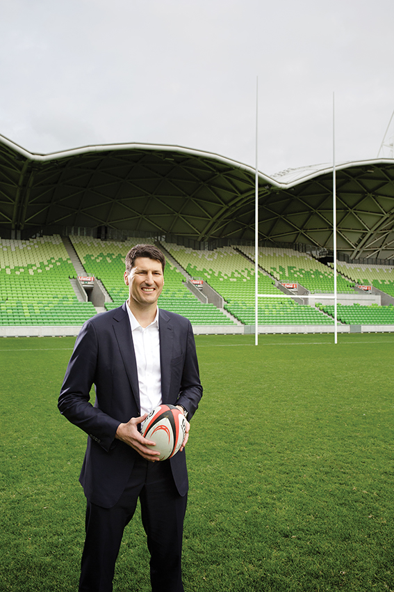 "John Eales says ""...the Wallabies are in a pretty good space..."" to win the Webb Ellis Cup at the Rugby World Cup 2015."