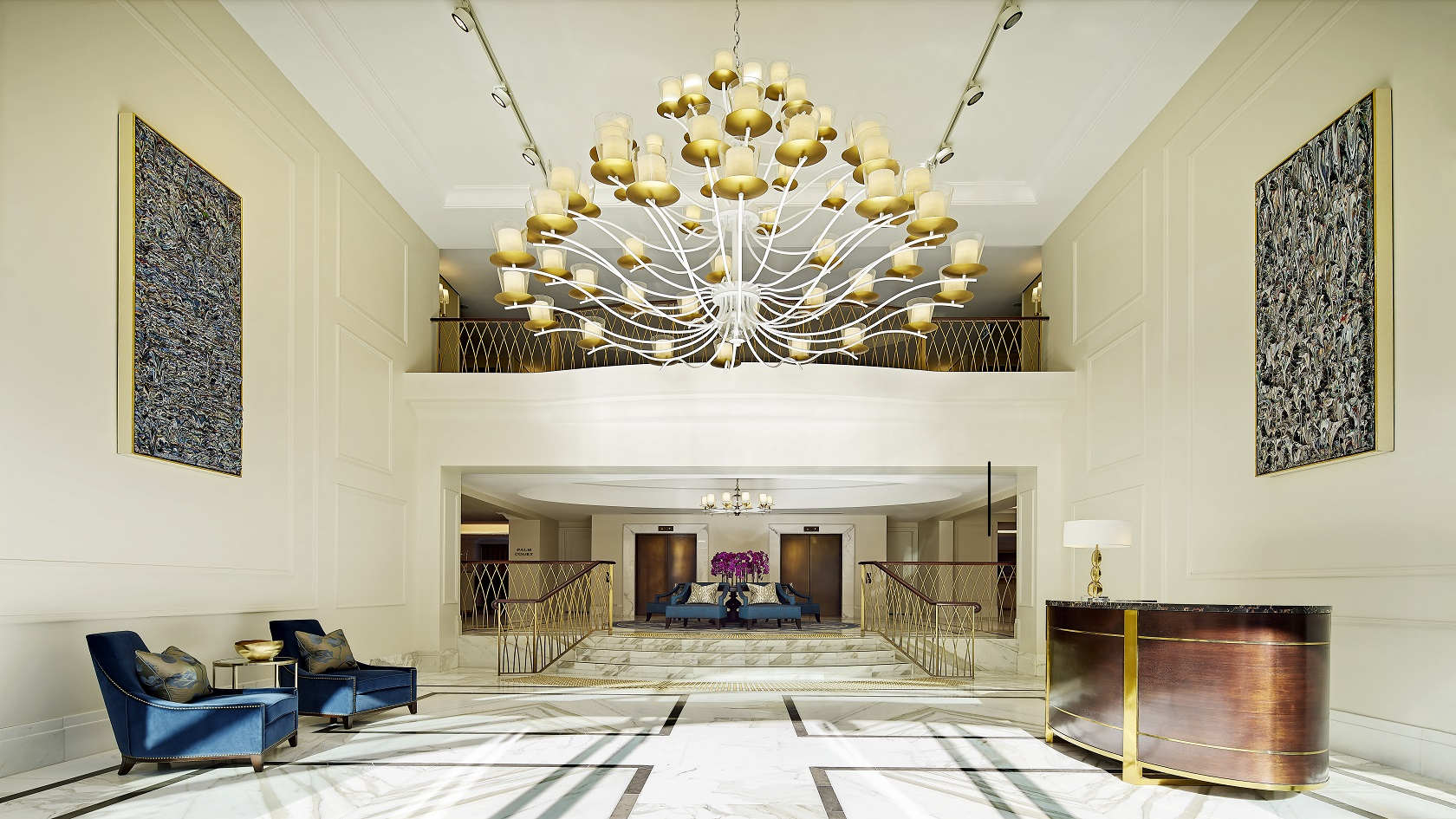 Grand Hotel Foyer : Just landed travel news highlights