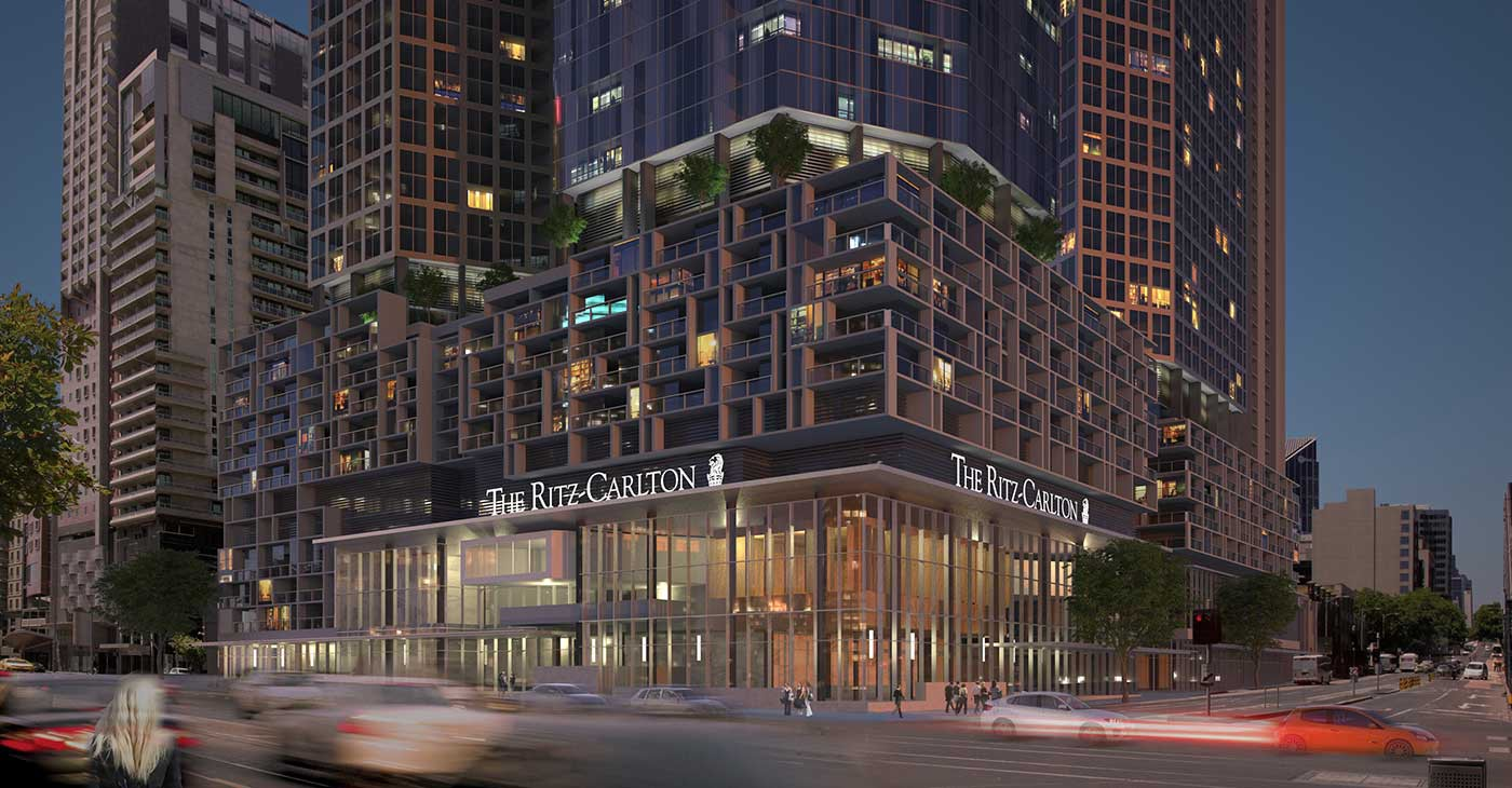 Ritz-Carlton Melbourne is set to become the the highest hotel open in Australia. Source: Phillip Hyams