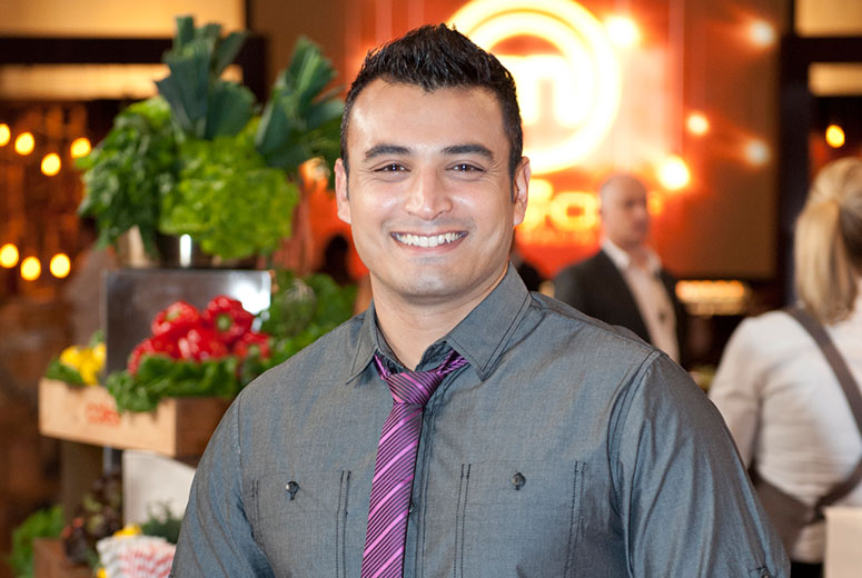 This image: Rishi Desai, host of India: A Spice Odyssey. Source: Shine 360.