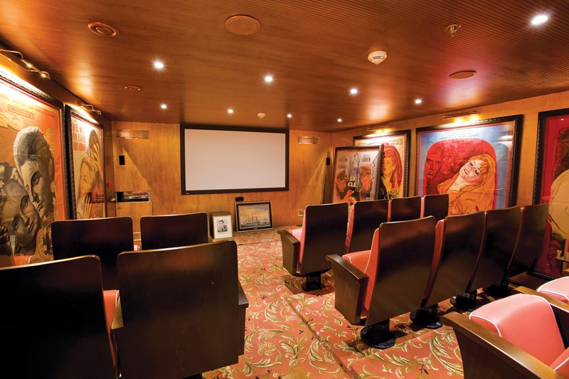 This image: La Pigalle, the first theatre on any river ship, on board Uniworld