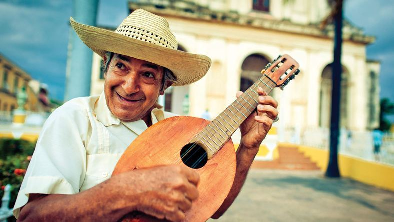 Local musician in Havana, Cuba.