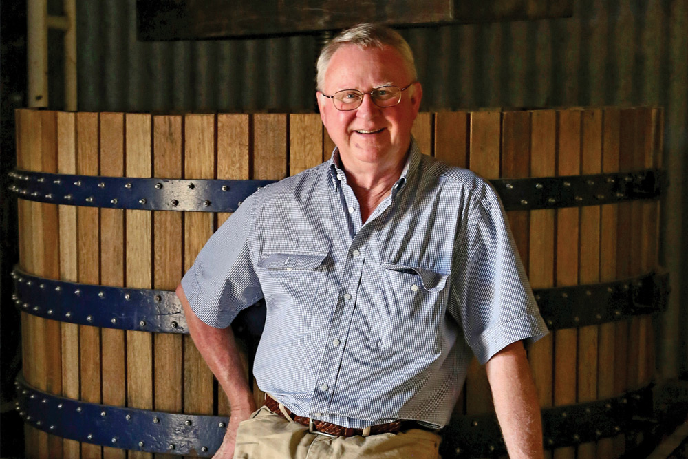 APT welcomes Australian wine-maker Bruce Tyrrell. Image courtesy of APT.