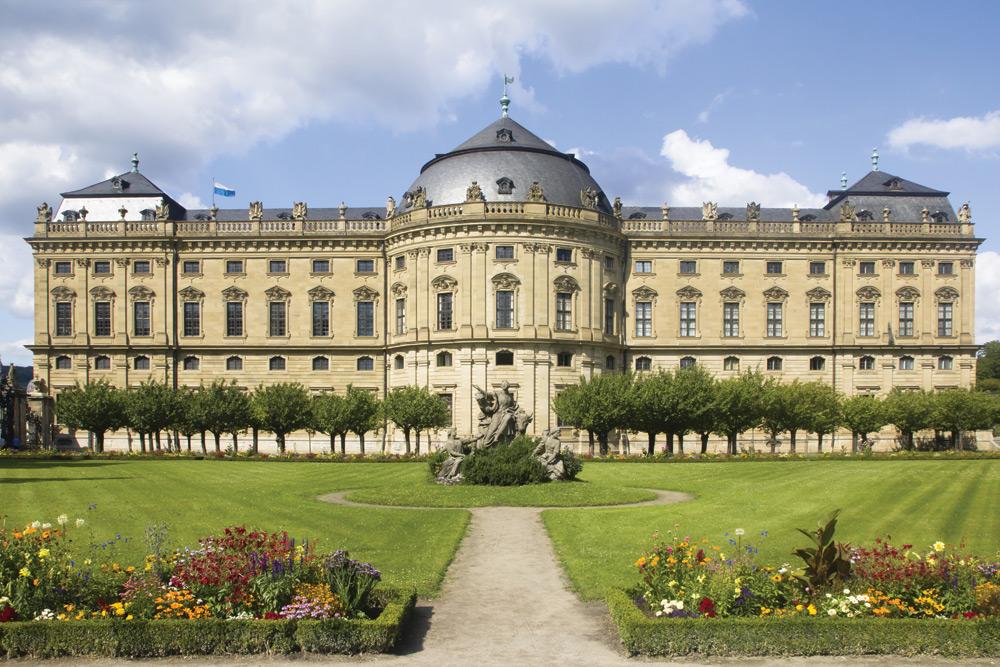 Wurzburg Residenz, Germany. Image courtesy of Tauck.