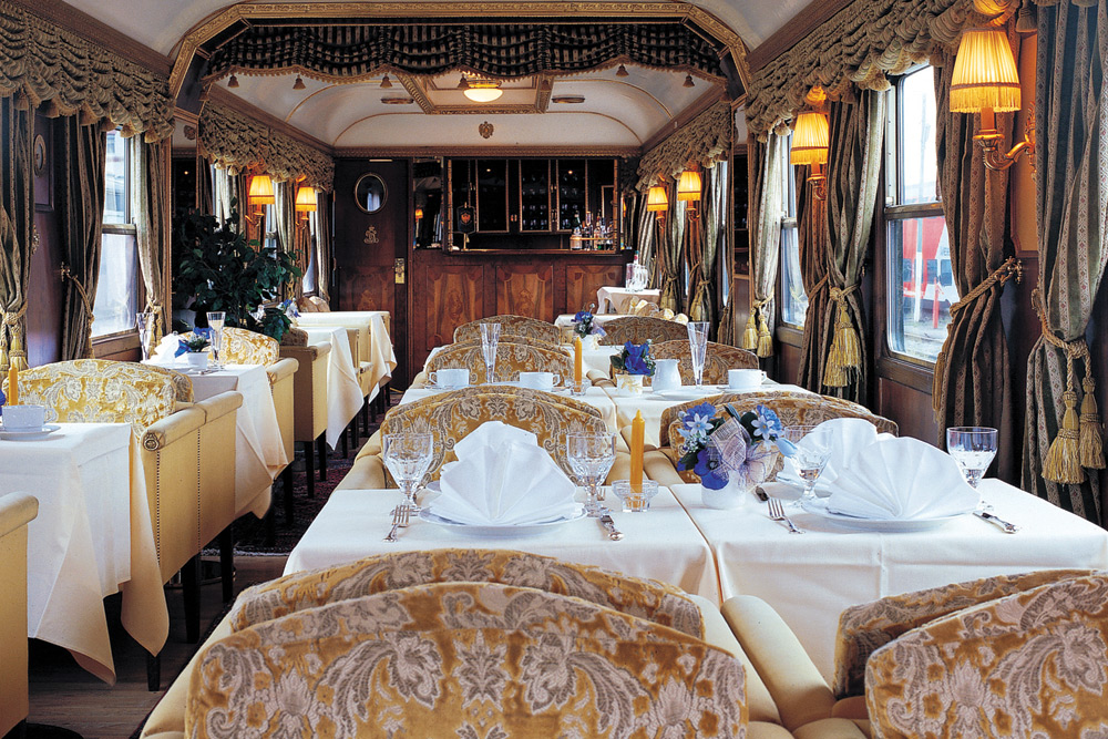 Graceful and romantic, nothing compares to an adventure aboard the Majestic Imperator.