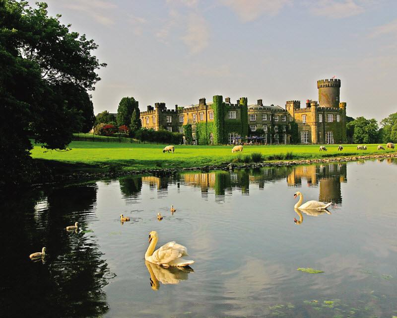 Swinton Park Castle, Harrogate, England.