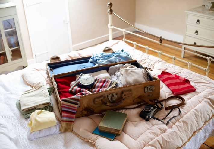 A mobile app like Packing Pro can also allow you customise packing lists and add reminders. Source: Getty images.