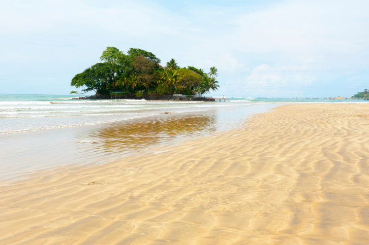 Taprobane Island, Sri Lanka. Source: Getty images.