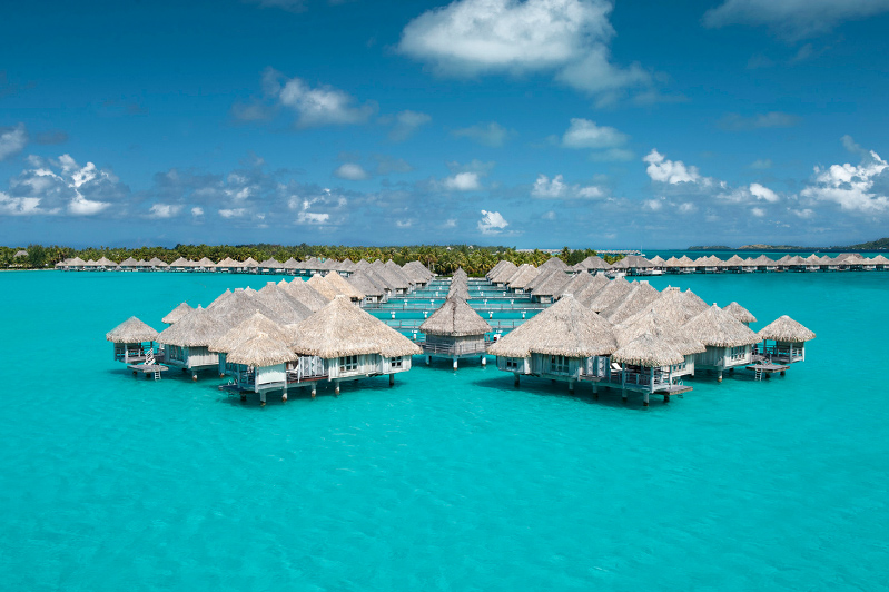 Over Water Villas At The St Regis Bora