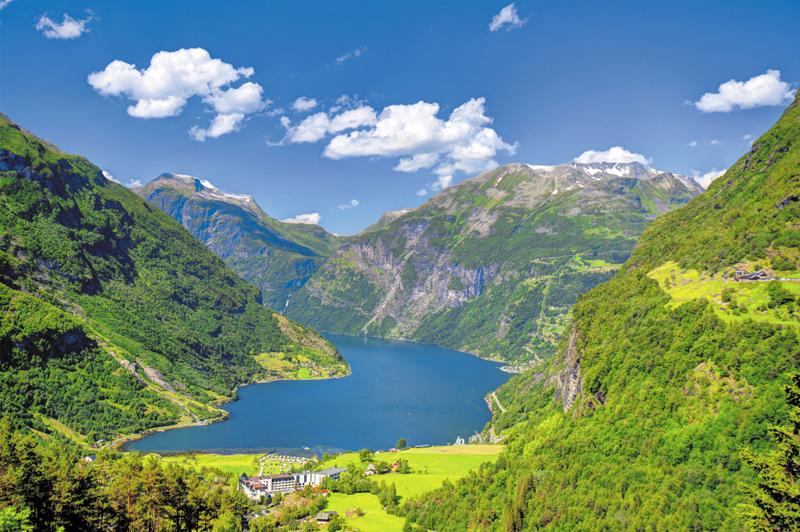 Geirangerfjord, Norway. Image: Getty.