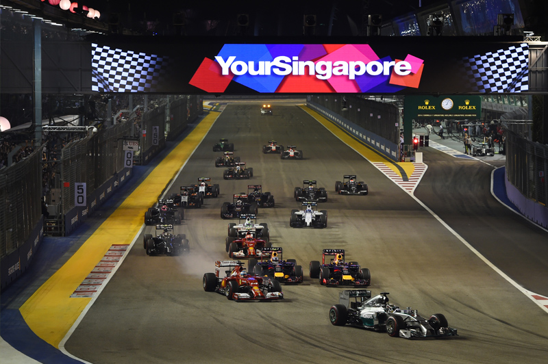 Singapore Grand Prix. Image: Keith Prowse Travel