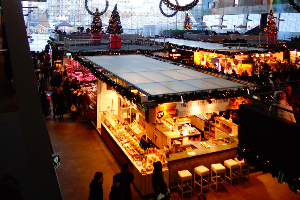 Find delicious and varied food at Rotterdam