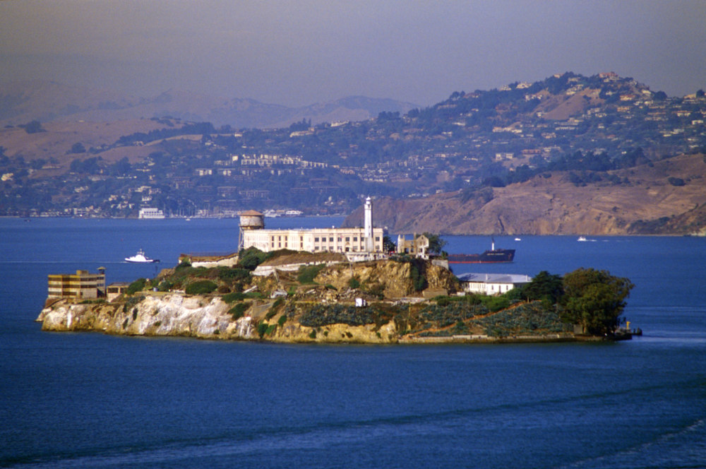 Alcatraz Prison has been featured in multiple movies (Image: Getty)