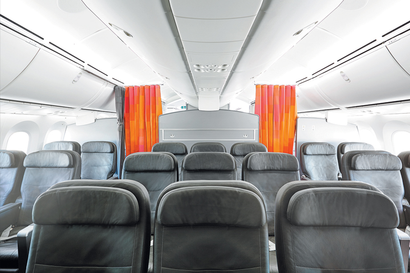 Inside the Business Cabin of Jetstar