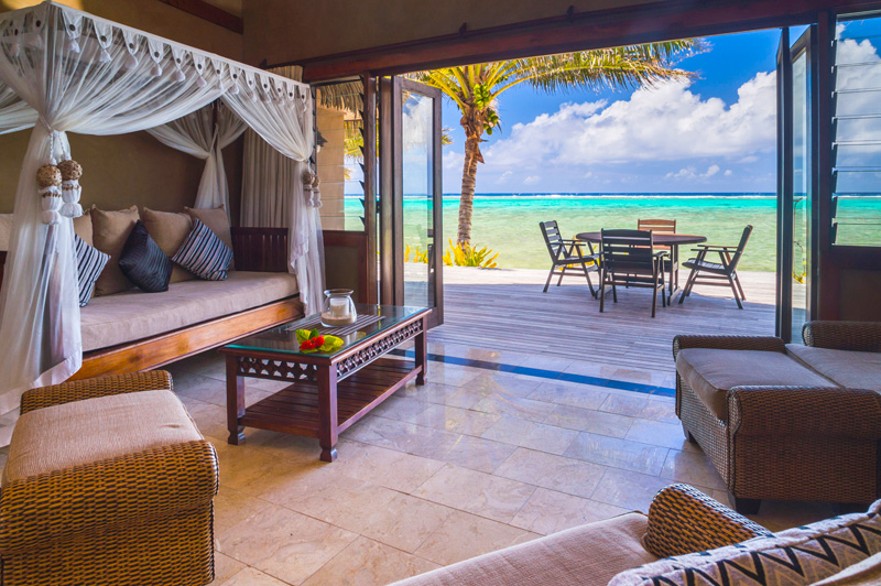 The suites at Rumours are proof Rarotonga has come-of-age as a high-end luxury travel destination. Image: Matthew William Ellis.