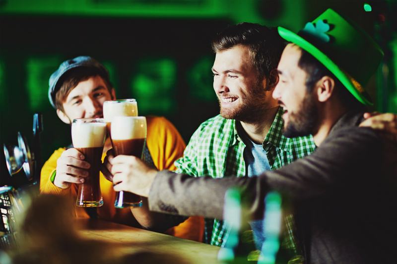 St Patrick's Day, Dublin, on 17 March 2016. Image: iStock