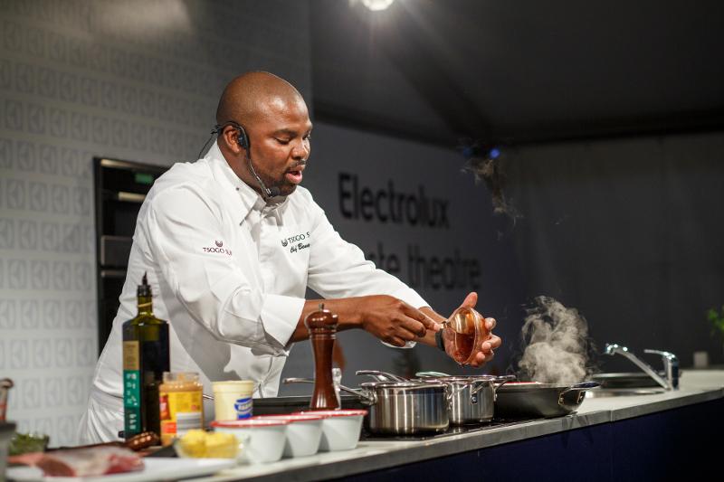 Chef Benny at the Taste of Sydney Festival