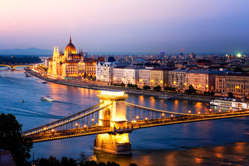 Enjoy a tour on two wheels through Budapest. Image: Getty Images