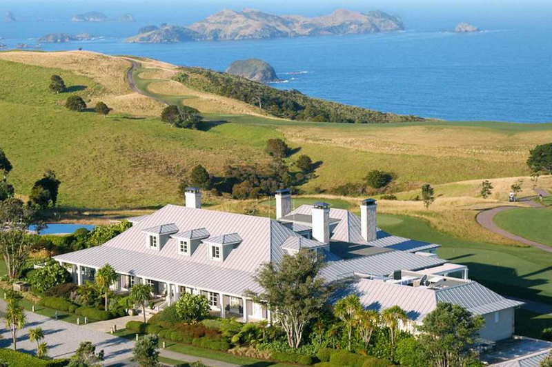 The Lodge at Kauri Cliffs in the Bay Of Islands. Image: Luxury Lodges of New Zealand